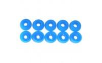 nakładki gumowe, kolor niebieski, rozmiar M, 10szt
